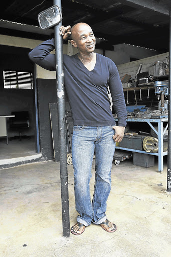 Andile Mxakaza, who plays Fezile on Isibaya, moved to Joburg after school to become a model.