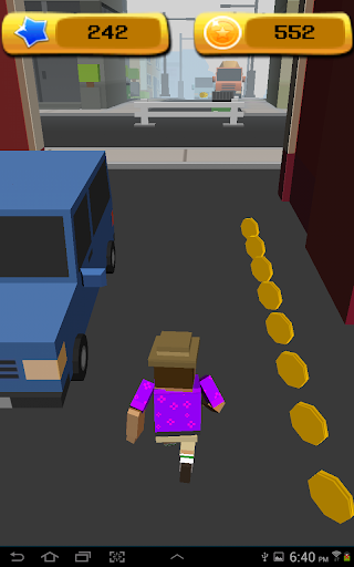 Blocky Tourist