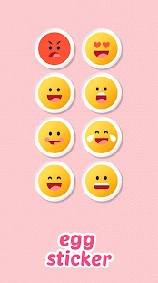 Egg Keyboard Sticker - náhled
