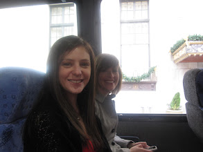 Photo: On the bus to the church.
