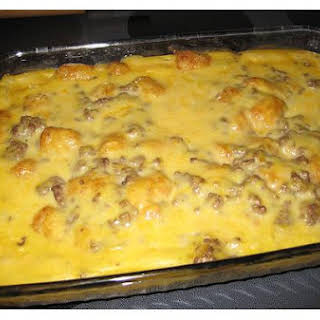 Easy Ground Beef Casserole.