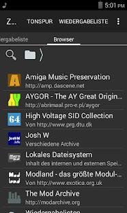 ZXTune - Chiptunes-Player Screenshot