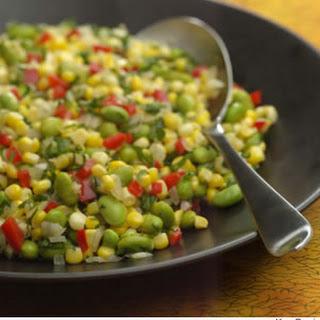 Herbed Corn & Edamame Succotash.