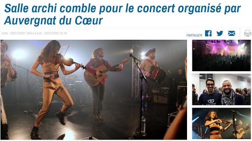 Concert 2020 Les Humeurs Cérébrales