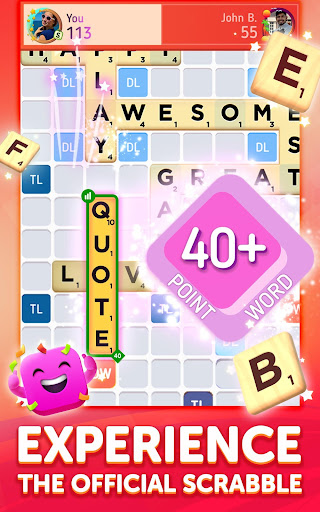 Scrabbleu00ae GO - New Word Game android2mod screenshots 7