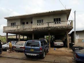 Photo: un garage...