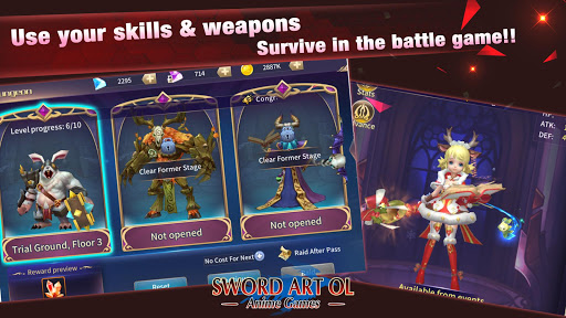 Sword Artuff1aAnime Games screenshots apkshin 2