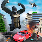 City Smasher Angry Gorilla Simulator: Rampage Game