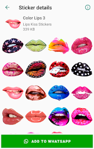 Lips Kiss Stickers for WhatsApp 💋 WAStickerApps 5