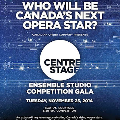 Centre Stage: 7 finalists compete in the COC's Ensemble Studio Competition Gala