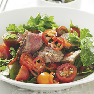 Thai Beef and Tomato Salad