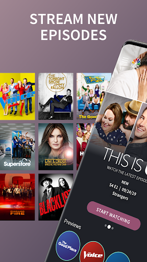 The NBC App - Stream Live TV and Episodes for Free screenshot 1
