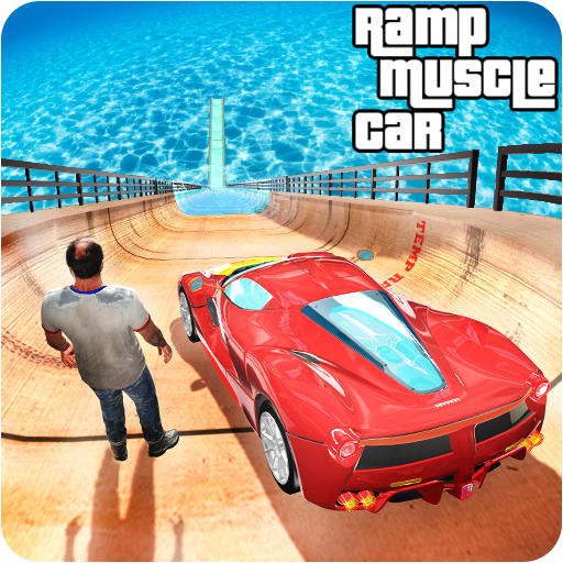 Underwater Mega Ramp Muscle Car Racing Stunts Game