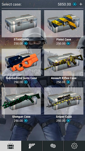 Cases from Critical Ops - simulator 1.10 screenshots 1
