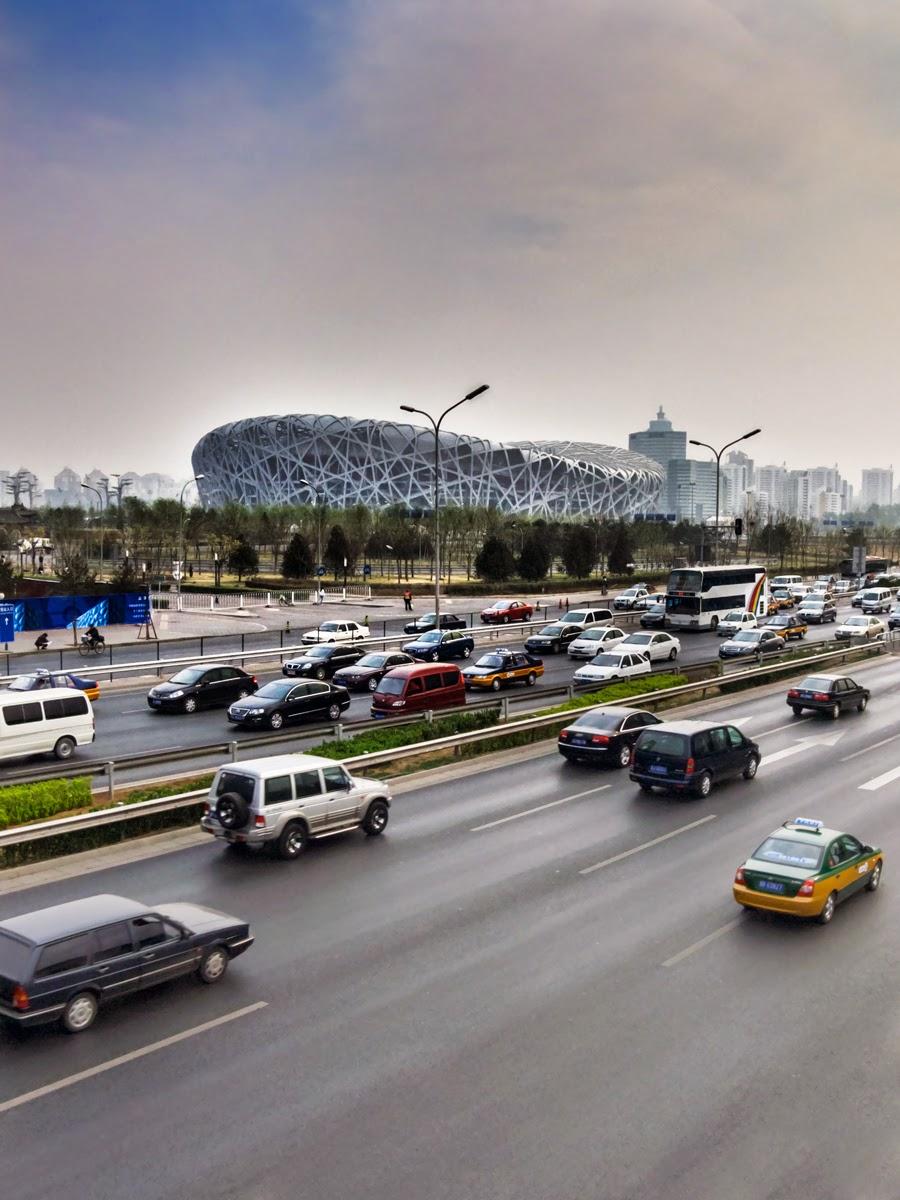 "Photo: ""The Bird Nest"" - Olympic Stadium - Beijing - April 2009"