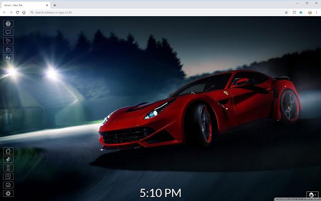Ferrari HD New Tab Theme