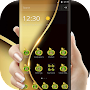 Golden Business Deluxe Theme APK icon