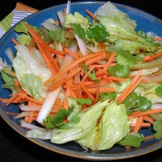 Soy & Yuzu dressing salad