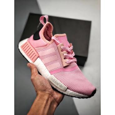 Adidas NMD R1 (Pink/White/Black)
