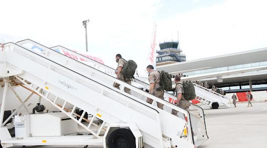 La Legión vuelve de Mali tras superar la misión, el virus y un golpe de estado