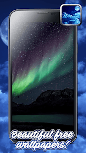Night Sky Live Wallpaper and Stars Background - náhled