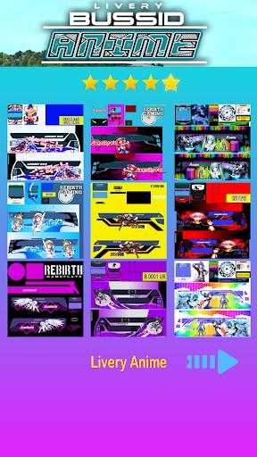 Livery Anime Bussid 1.2 screenshots 2