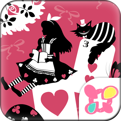 Alice and theCheshireCat Theme Icon