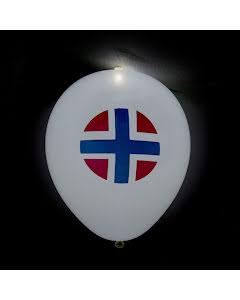 LED-ballong, Norge 5st