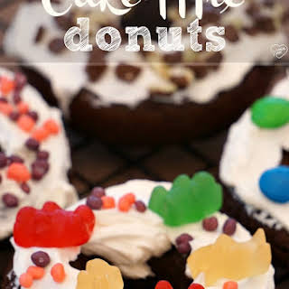 Cake Mix Donuts.