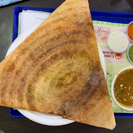Dosa by Som Nath - Food & Drink Plated Food