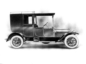 Photo: 1911 Wolseley Brougham. Fitted to 16/20 and 20/28