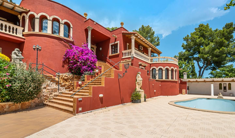 Maison avec piscine en bord de mer Palma
