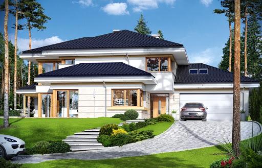 Projekty Domów Piętrowych Bez Poddasza Toobapl