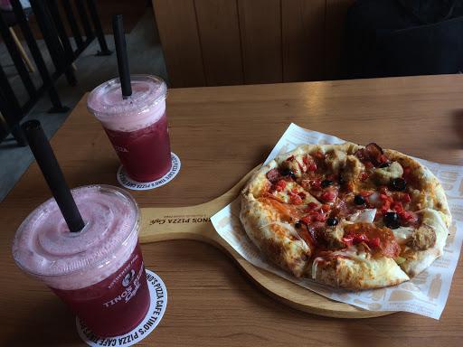 堤諾先生口味! 飲料也不錯喝! Pizza 👍👍😘