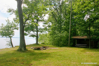 Photo: Cedar Lean to at Knight Island State Park