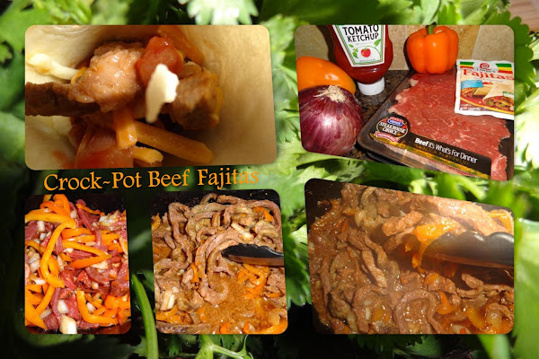 Crock Pot Beef Fajitas Recipe