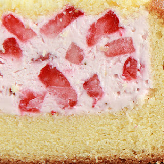 1. Cheesecake Stuffed Pound Cake