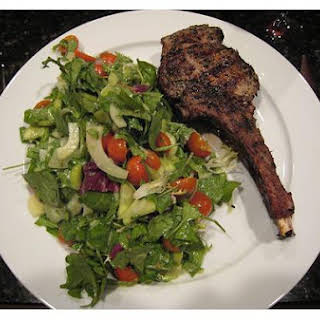 Grilled Veal Chops.