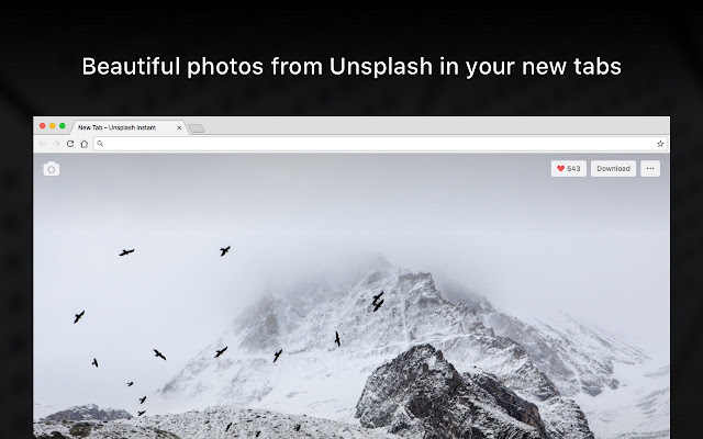 Unsplash Instant Screenshot