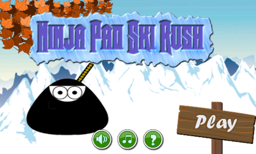 Ninja Pet Moo Ski Rush