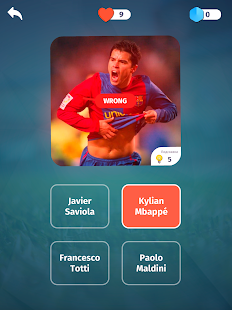 Football Quiz - Guess players, clubs, leagues