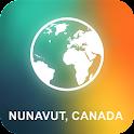 Nunavut, Canada Offline Map icon