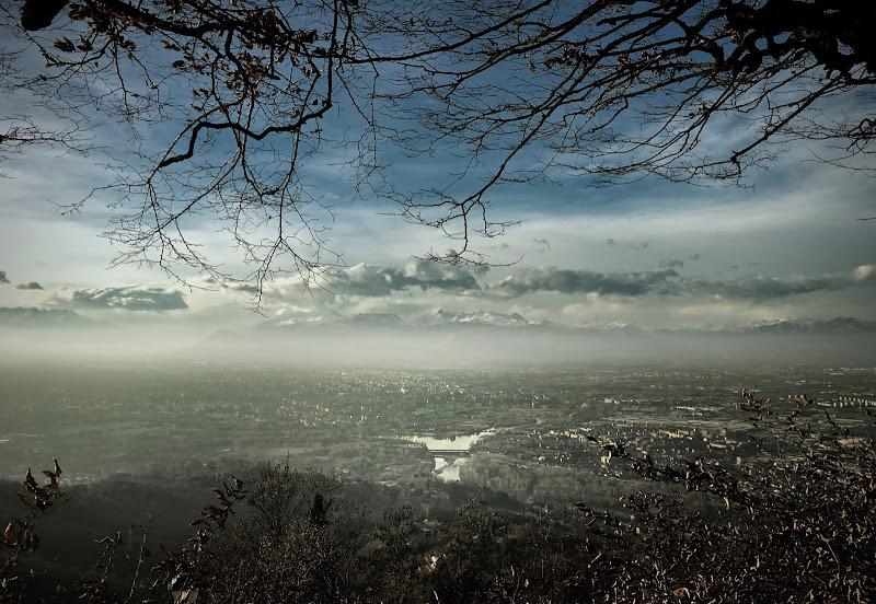 Oltre la nebbia ..... il Monte Rosa di annabus58