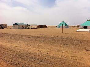Photo: Tradicional Mauritania village