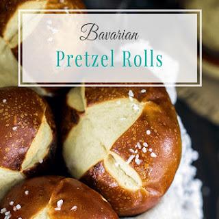 Easy Bavarian Pretzel Rolls Recipe