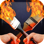 Fire Drawing Icon
