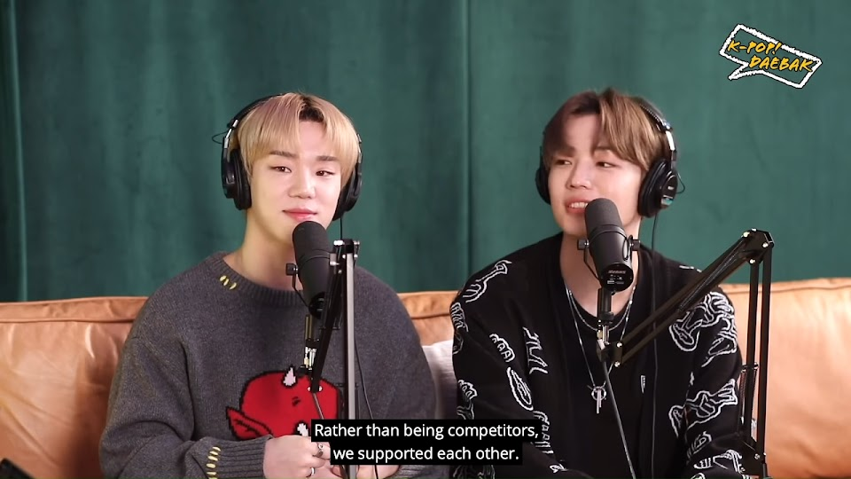 A.C.E's Byeongkwan and Chan Met Through Bang Chan of Stray Kids _ KPDB Ep. #85 Highlight 1-24 screenshot