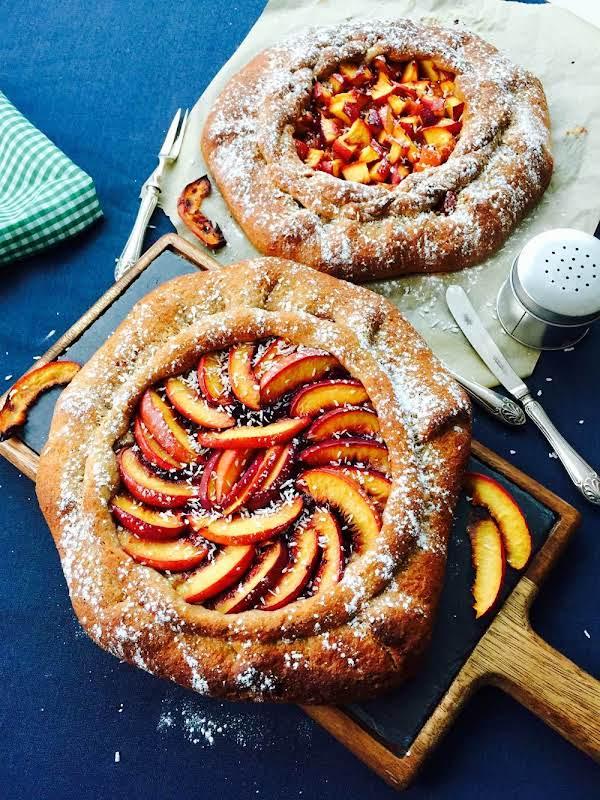 Spelt Flour, Quince Jam And Homemade Galette Recipe
