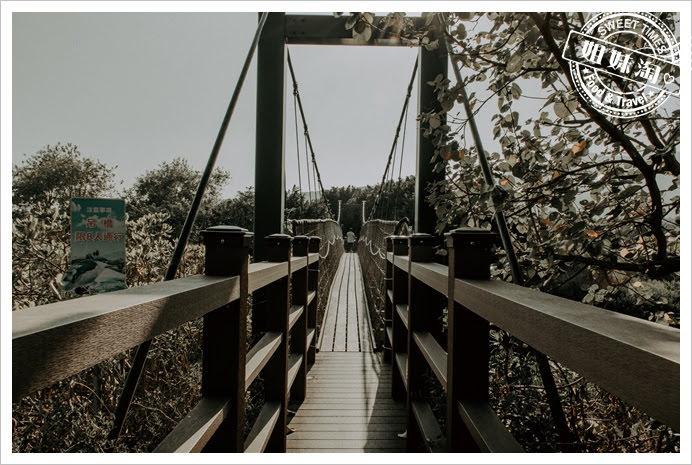 中都濕地公園吊橋