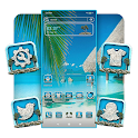 Summer Beach Theme icon
